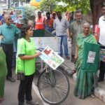 Abhiramapuram residents talk about waste segregation and composting