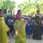 Toddlers of Chettinad Vidyalaya 'Go Green'