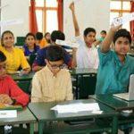 Young delegates at work; At Chettinad Hari Shree Vidyalayam