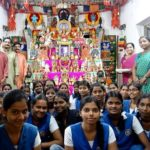 Kolu workshop held for girls of Lady Sivaswami School
