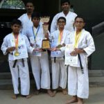 Vidya Mandir students bag medals at karate tournament