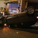 Drunk college student crashes car into median at R. K. Salai