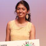 Sadhana wins prize in Korean speech contest