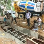 Key storm water drain work is on at R. A. Puram