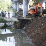 Monsoon: Canal section in Mandaveli being dredged on Wednesday