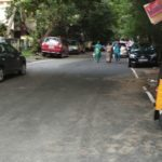 Monsoon: on Friday evening many streets, road are dry