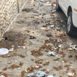Sabha's little effort to keep its pavement clean