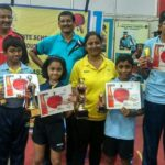 P. S. School students win at table tennis tournament