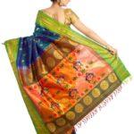 Exhibition of Paithani sarees; this week at Alwarpet