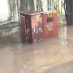 Water logging at MRC Nagar; MLA assures residents of a permanent solution