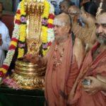 Deity at Sri Kapali Temple adorns nagabharanam; Kanchi Mutt gurus are special invitees