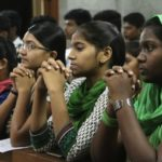 Church holds special Mass for students appearing for state exams
