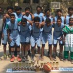 Inter school basketball tournament hosted by Sivaswami Kalalaya