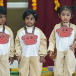 Toddlers of The Nest Play School celebrate their annual day