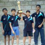 P. S. School boys win at table tennis tournament