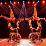 Dance performance by differently-abled artistes
