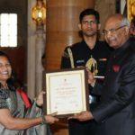 Abhiramapuram-based women entrepreneurs awarded 'Nari Shakthi Puraskar' by the President