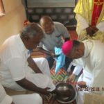 Archbishop says Mass at Puzhal jail, washes feet of prisoners