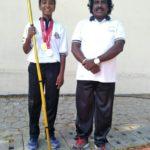 M. Lathika: Silambam champion