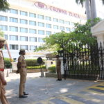 Police secure hotel where Chennai Super Kings team is accommodated