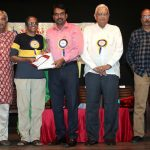 Theatreperson 'Bombay' Chanakya recognised by sabha with award of execllence