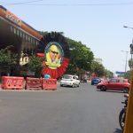 DMK lets north Mylapore know that DMK leader M. Karunanidhi celebrates his 95th birthday