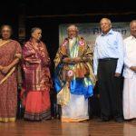 Carnatic music vidwan T. V. Gopalakrishnan felicitated