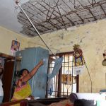Unkempt condition of Slum Board tenements in R. A. Puram pose danger to residents