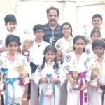 Excelling at martial arts: Students of local karate school win prizes