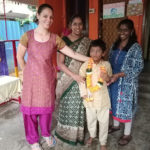 Special students of Ekadaksha celebrate Krishna Jayanthi