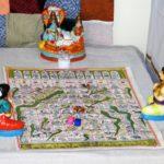 Traditional games display highlights this kolu in Mandaveli