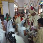 Archbishop leads Confirmation service at Our Lady of Guidance Church in R. A. Puram