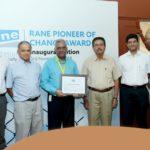 Award for R. A. Puram based V-Excel Educational Trust