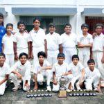 Vidya Mandir boys win at inter school cricket tournament