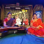 Chitra veena and violin jugalbandhi. By two women artistes.