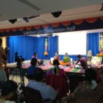 Giri Trading opens auditorium on North Mada Streets; music fest on now