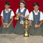 Vidya Mandir girls win at CBSE National Swimming meet