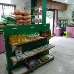 Mini organic supermarket