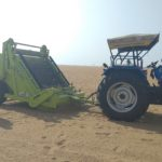 New beach cleaning machines starts operating at Marina.