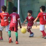 Kids bend it like Beckham at this football club