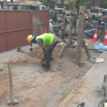 Chennai Metro : Soil testing starts at Luz church road