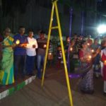 R. A. Puram residents offer homage to the CRPF soldiers killed in the Pulwama tragedy
