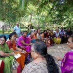 Terrace gardeners meet at Nageswara Rao Park, Luz