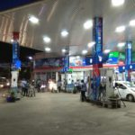 A petrol bunk in R. A. Puram plays Carnatic instrumental music to de-stress the motorists