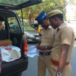 Elections 2019: Vehicle checking takes place at R. A. Puram