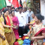 DMK candidate goes on a ward-by-ward canvassing tour