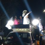 MNM's Rangarajan campaigns at R. K. Mutt Road, Mylapore