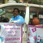 Elections 2019: K.Devdass an independent candidate campaigns in Mylapore