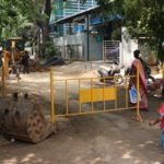 Metro Water replaces pipelines at Chamiers Road