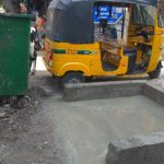GCC constructs structures for dustbins off the roads to avoid traffic congestion